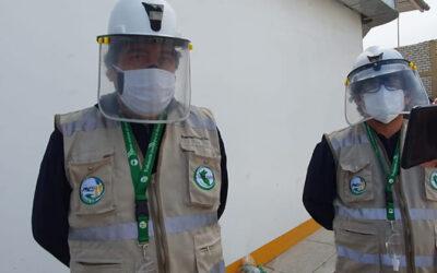 Colquisiri apoya en la ampliación de la zona Covid-19 en el hospital de Huaral